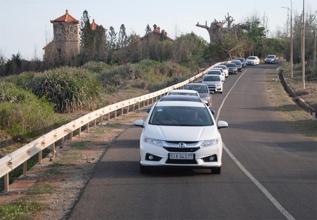 Thách thức tiêu hao nhiên liệu với Honda City
