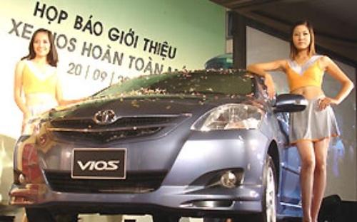 Toyota Vios 2007 lắp ráp trong nước