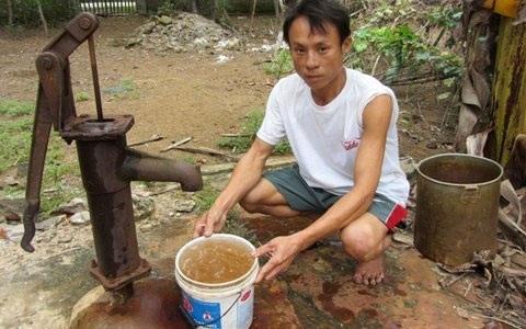 Nguy cơ sức khỏe từ nguồn nước chưa sạch