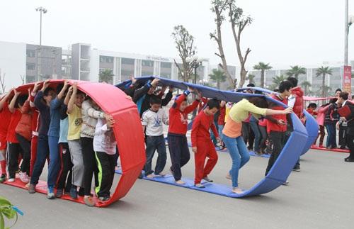 Những môn thể thao ngoài trời và những hoạt động cộng đồng thường xuyên được tổ chức tại các khu đô thị Vinhomes.