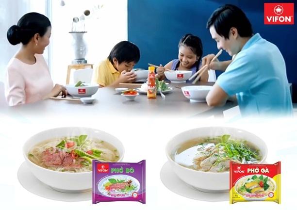 Phở ăn liền VIFON đã có mặt trên thị trường từ cách đây 20 năm và nhanh chóng trở thành món ăn quen thuộc của nhiều gia đình bởi hương vị truyền thống và tính tiện lợi mà sản phẩm mang lại