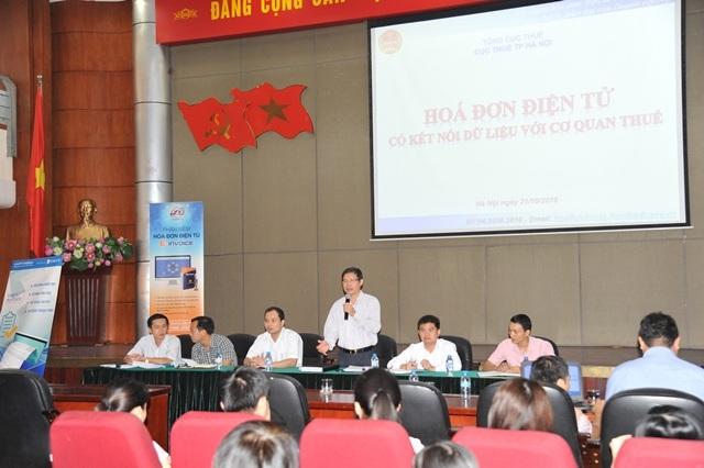 Công ty Thái Sơn tham gia tập huấn về hóa đơn điện tử cho cán bộ công chức của các Chi Cục Thuế trên địa bàn Hà Nội.