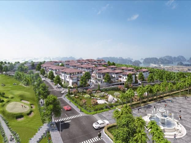 Biệt thự sân golf trên đồi FLC Hạ Long