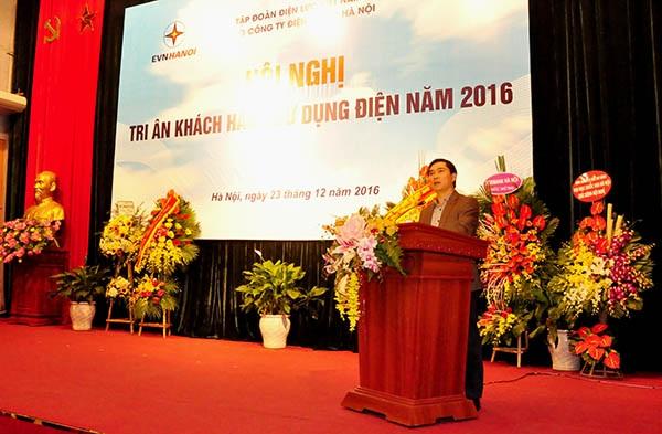 Ông Phạm Quang Huy - Phó Cục trưởng Cục Điều tiết điện lực phát biểu chỉ đạo tại Hội nghị