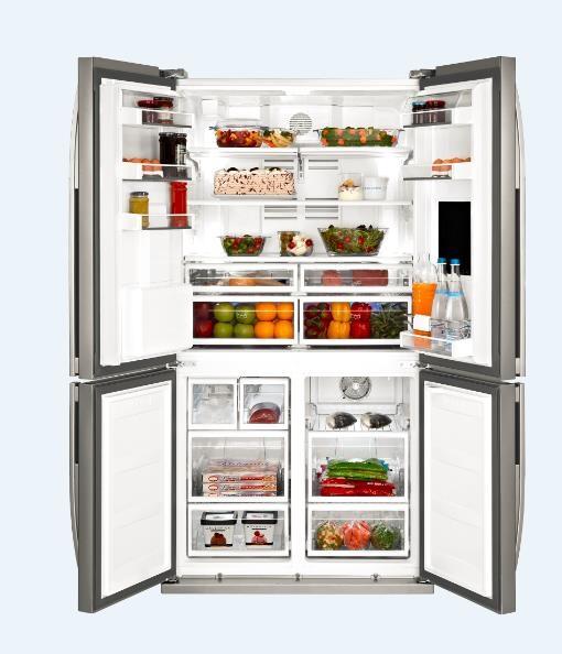Tủ lạnh Beko với kiểu dáng sang trọng