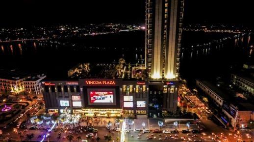 Khu tổ hợp khách sạn – TTTM – chuỗi nhà phố