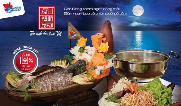 """Lẩu Thuyền Chài tôn vinh nét đẹp văn hoá """" Kính trên nhường dưới"""" và """"Đạo hiếu thảo"""" của người Việt"""