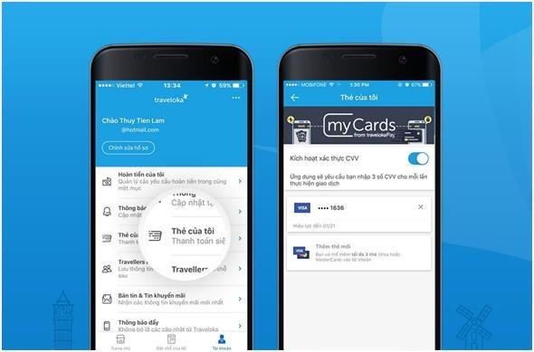 Đặt vé máy bay, khách sạn, thanh toán trực tuyến chưa đầy 1 phút với ứng dụng này! - 2