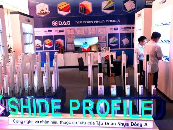 Gian hàng của DAG nổi bật tại triển lãm