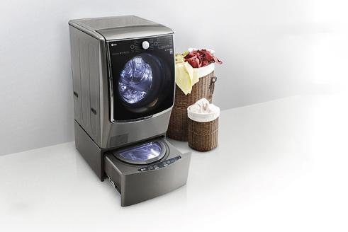 LG TWINWash là mẫu máy giặt lồng đôi đầu tiên tại thị trường Việt Nam