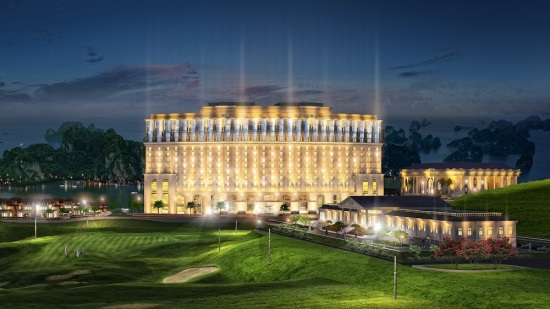 FLC Grand Hotel Hạ Long lộng lẫy về đêm