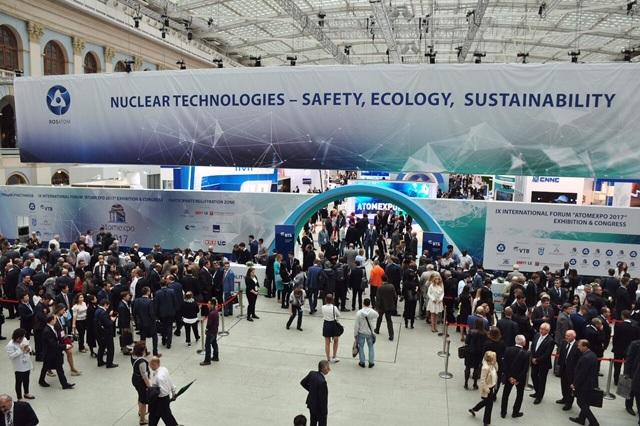 ATOMEXPO 2017 quy tụ hơn 6.500 đại biểu đại diện cho 653 công ty