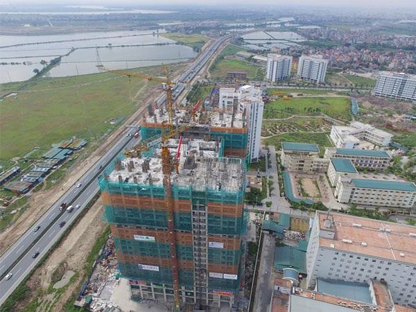 Dự án Tứ Hiệp nhìn thẳng ra công viên Yên Sở - công viên lớn nhất Hà Nội