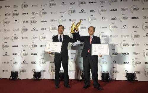 """The ZEN Residence nhận giải thưởng """"Dự án thiết kế phổ quát nhất""""và """"Dự án khu căn hộ tốt nhất phân khúc giá tầm trung (Hà Nội)"""" tại Giải thưởng Bất Động Sản Việt Nam 2017."""