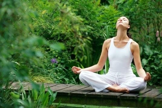 Không gian thiền trên đồi là thiên đường cho những ai yêu thích yoga