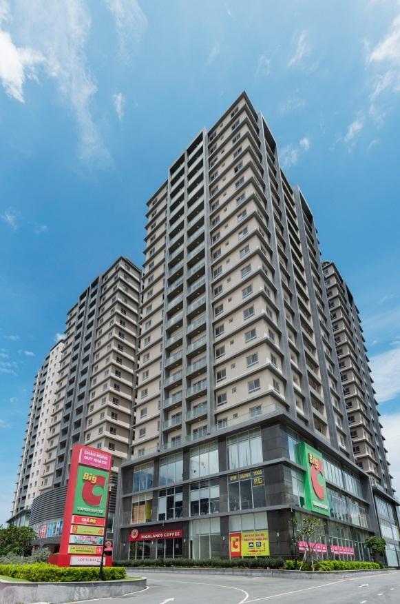 COSMO City là căn hộ cao cấp duy nhất trong khu vực xây hoàn thiện mới mở bán