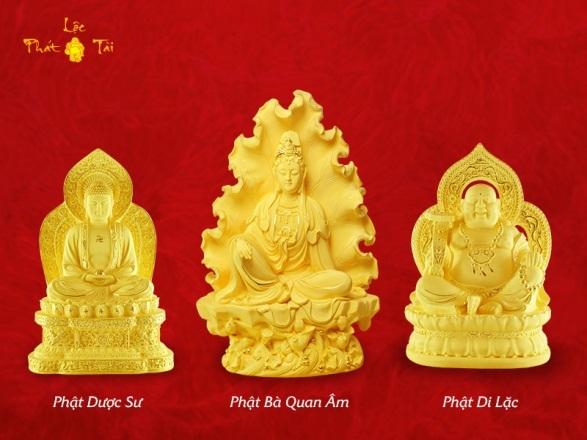 Hình tượng Phật mang đến cho gia chủ những điều tốt lành, thanh tịnh và hướng thiện trong tâm hồn, xua tan những buồn phiền, giận dữ.