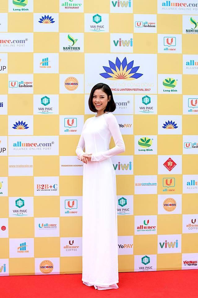 Hoa hậu biển Đào Thị Hà là đại sứ sự kiện Allunee kết nối cộng đồng
