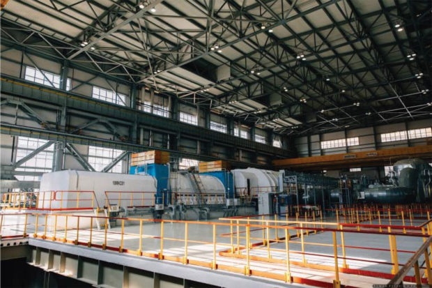 Tua bin công suất 1200 MW của tổ máy số 6