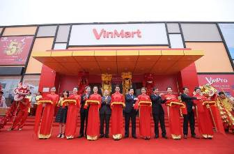 Hệ thống siêu thị VinMart phủ rộng gần 30 tỉnh thành trên toàn quốc.
