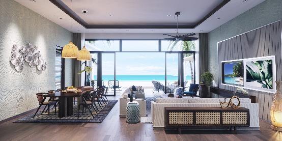 Từng chi tiết đều đảm bảo sự tinh tế và không gian nghỉ dưỡng đạt chuẩn quốc tế