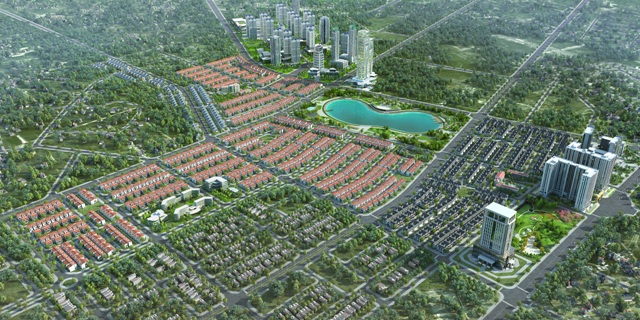 Khu đô thị Dương Nội có hạ tầng giao thông và xã hội phát triển đồng bộ