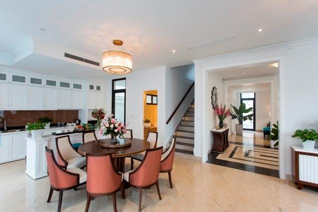 Không gian sang trọng của biệt thự mẫu FLC Grand Hotel Halong