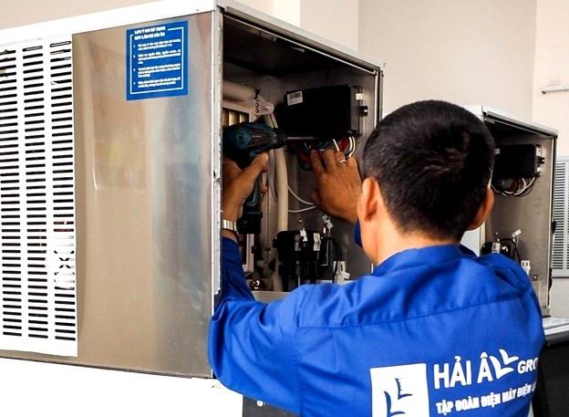 Không chỉ là đơn vị sửa chữa máy làm đá viên chuyên nghiệp mà Hải Âu Group còn là đơn vị đi đầu trong việc cung cấp linh kiện máy làm đá viên uy tín, chất lượng