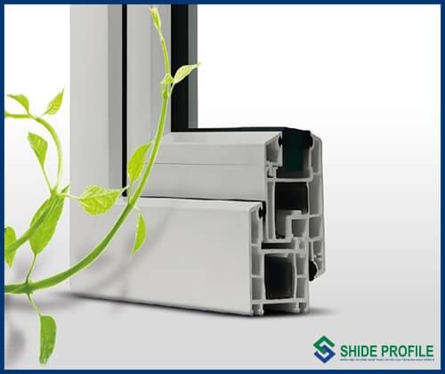 """Thanh Profile uPVC của DAG được sản xuất theo tiêu chuẩn """"Greenline"""" mang nhãn hiệu Shide Profile và Sea ∝ Profile"""