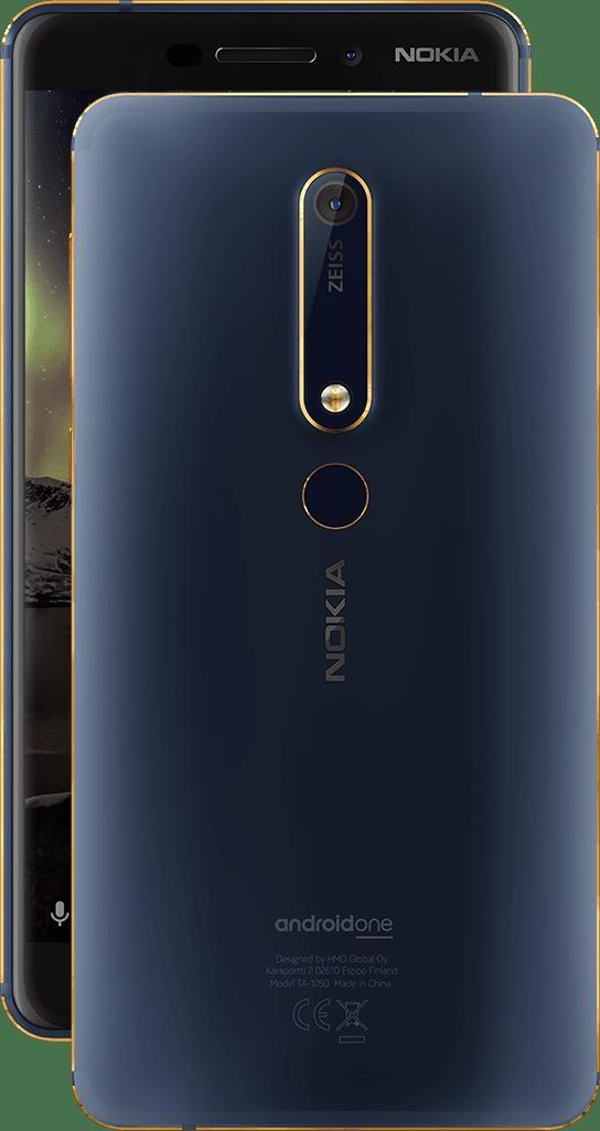 Nokia 6 mới trình làng phiên bản Blue Gold: Nâng cấp Ram & Bộ nhớ trong cao hơn - 2