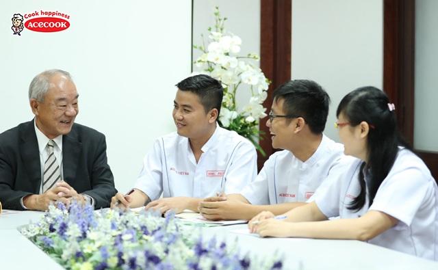 """Acecook được vinh danh thứ hạng 11 trong ngành hàng tiêu dùng nhanh (FMCG) trên bảng xếp hạng """"100 nơi làm việc tốt nhất Việt Nam"""""""