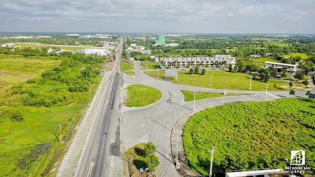 Tuyến cao tốc Tp.HCM – Trung Lương có điểm kết nối với huyện Bến Lức tỉnh Long An ngay đường ĐT830