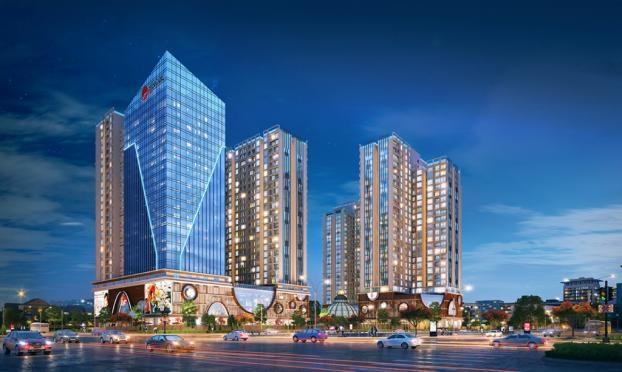 Tọa lạc tại vị trí đắc địa giữa ngã tư Kim Ngưu - Minh Khai, Hinode City thừa hưởng toàn bộ lợi thế về hạ tầng sau quy hoạch đường vành đai 2.