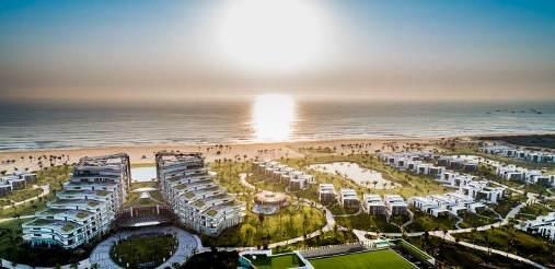 Vinpearl Resort & Golf Nam Hội An với đường bờ biển hoang sơ toàn mỹ - Ảnh: Vinpearl Resort & Golf Nam Hội An cung cấp