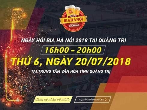 Người dân Quảng Trị nô nức rủ nhau tới Ngày hội Bia Hà Nội 2018 - 4