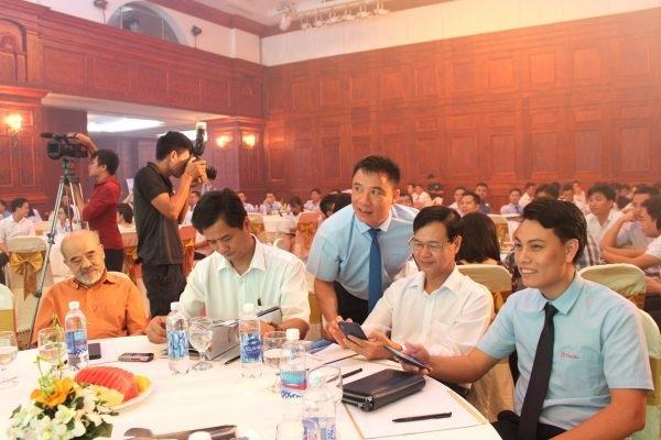 Các đại biểu tham dự Hội thảo Cơ hội đầu tư và sở hữu căn hộ cao cấp, căn hộ khách sạn (Condotel) ở Khu đô thị TBCO RIVERSIDE Thái Nguyên