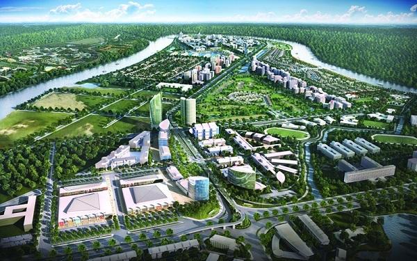 Khu đô thị hiện đại như Waterpoint với quy mô hàng trăm ha góp phần tăng sức hút cho bất động sản Long An.