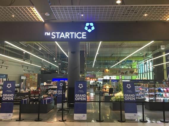 Cửa hàng đạt chứng nhận I'M STARTICE tại Singapore