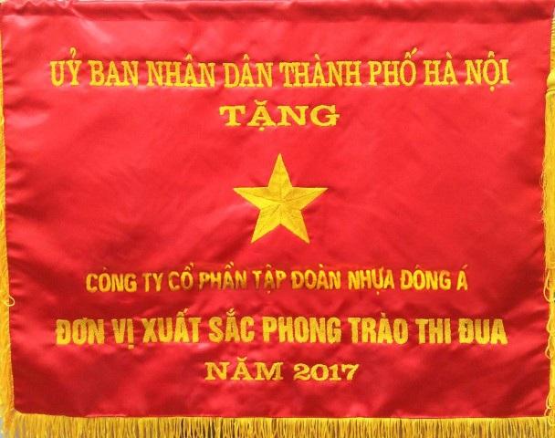 Cờ thi đua của UBND TP Hà Nội trao tặng DAG