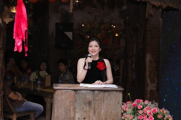 Bà Nguyễn Thị Thanh - Giám đốc BT Việt Nam phát biểu tại buổi lễ ra mắt.