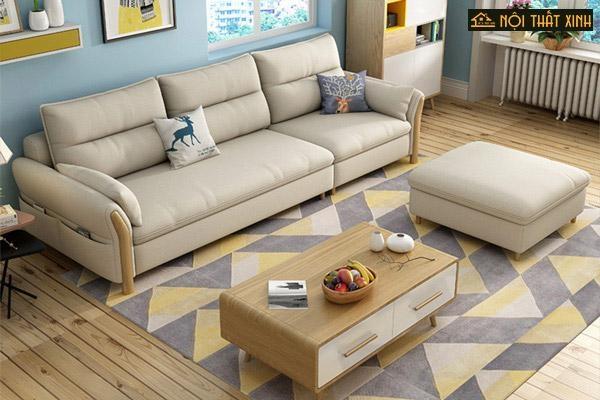 Nếu không lo bị lệch tông so với phòng khách, mẫu ghế sofa nhỏ gọn gam màu trung tính này sẽ chẳng bao giờ khiến bạn phải sợ khi đặt ở bất cứ không gian nào.