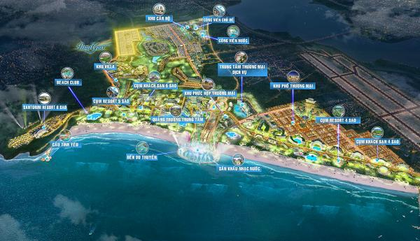 Nhà phố Para Grus thuộc tổ hợp du lịch nghỉ dưỡng và vui chơi giải trí KN Paradise với nhiều hàng loạt tiện ích đẳng cấp