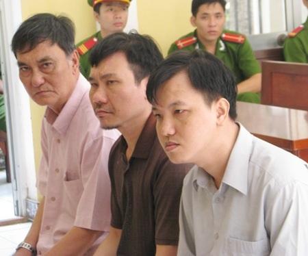 Cả 3 bị cáo Phạm Văn Núi, Nguyễn Hoàng Quân và Triệu Tuấn Hưng đều cho rằng mình bị truy tố oan.