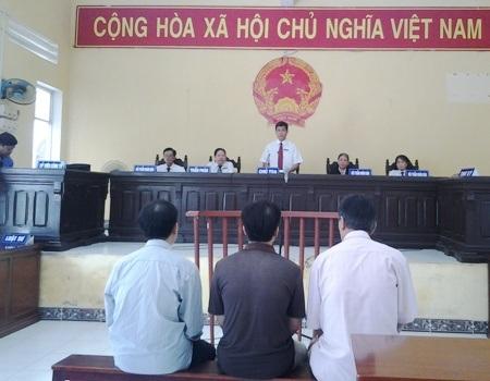 HĐXX bắt đầu vào phiên tòa tuyên án.