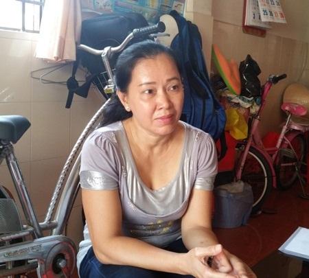 Bà Phạm Thị Hồng Khanh bức xúc vì bị Ngân hàng HTX Sóc Trăng chấm dứt hợp đồng lao động không đúng pháp luật.