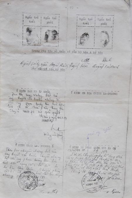 """Xác nhận được cho là """"lạ thường"""" của Phòng Kinh tế thị xã Cà Mau (nay là TP Cà Mau)."""