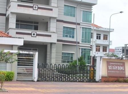Sở Xây dựng tỉnh Cà Mau.