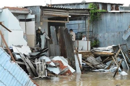 Thiên tai đã gây thiệt hại cho tỉnh Cà Mau hơn 1.400 tỷ đồng trong 10 tháng của năm 2016.