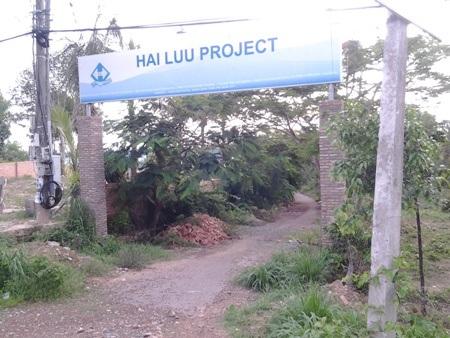 Người dân kiến nghị nên thu hồi 2 dự án treo gần 10 năm của Công ty Hải Lưu.