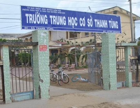 """Trường THCS Thanh Tùng, nơi ông hiệu trưởng """"độc quyền"""" 30 năm và nhiều sai phạm khác."""
